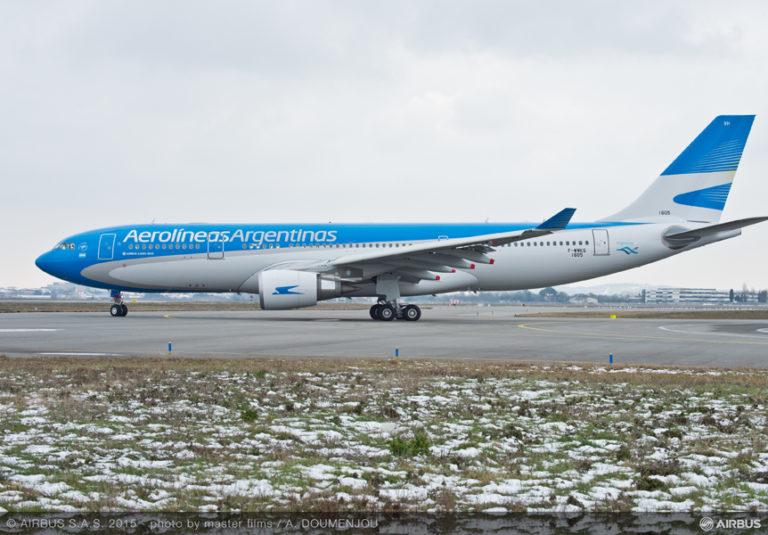 Aerolineas Argentinas, primo A330-200