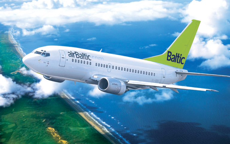 Air Baltic battezza il Pisa-Riga