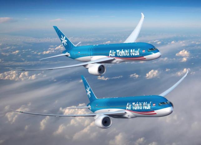 Nuova flotta Air Tahiti Nui