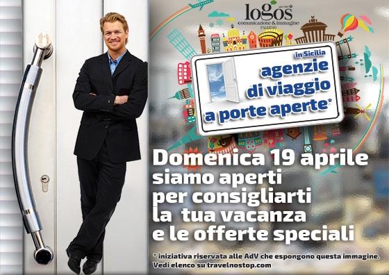 Domenica in Sicilia agenzie di viaggio a porte aperte