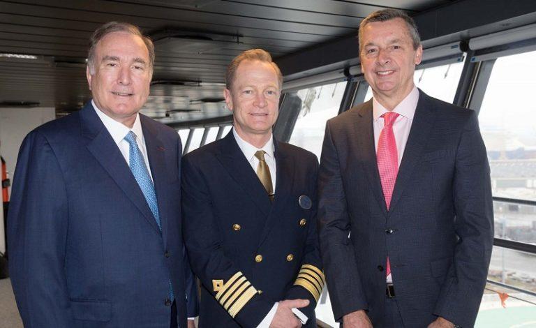 Royal Caribbean riceve la Symphony of the Seas