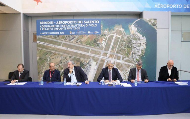 Aeroporto del Salento, al via lavori riqualifica pista 13/31