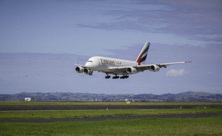 Emirates festeggia il primo anno del volo più lungo al mondo con l' A380