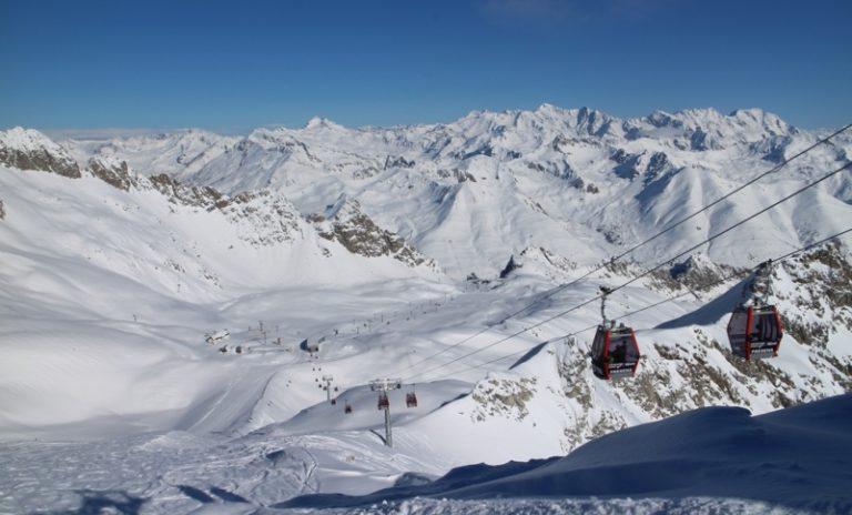 Via della stagione dello sci in Val di Sole