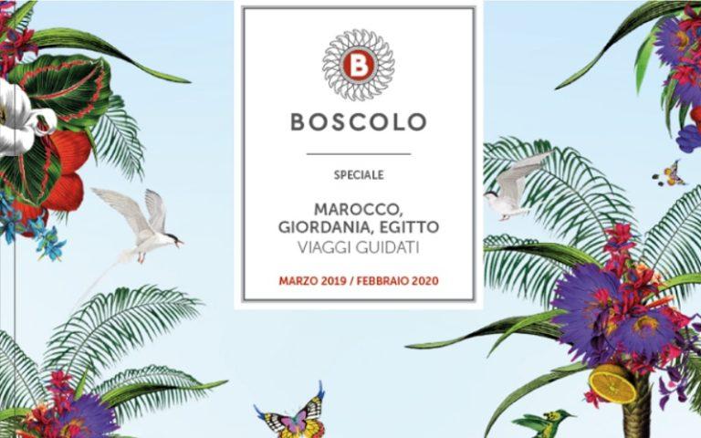 Boscolo Tours, ecco i nuovi cataloghi 2019