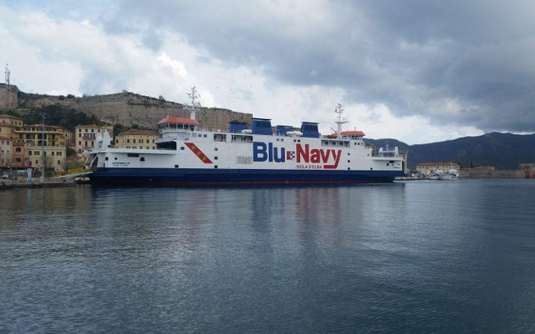 Blu Navy: nuovi orari sulla linea marittima per l'Isola d'Elba
