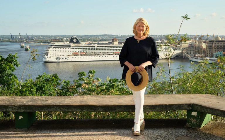 MSC e Martha Stewart, insieme per esperienze gourmet e di viaggio speciali