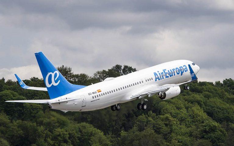Air Europa riprende i suoi voli per New York