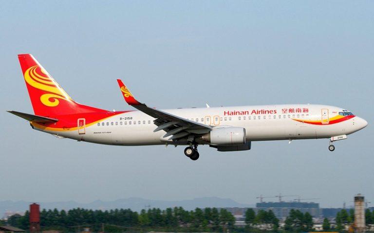 Hainan Airlines, nuovo volo diretto da Roma a Shenzhen