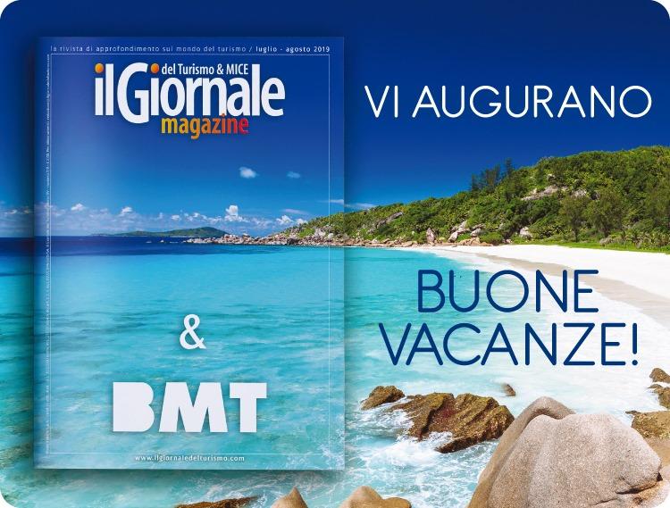Il Giornale del Turismo e BMT vi augurano Buone Vacanze