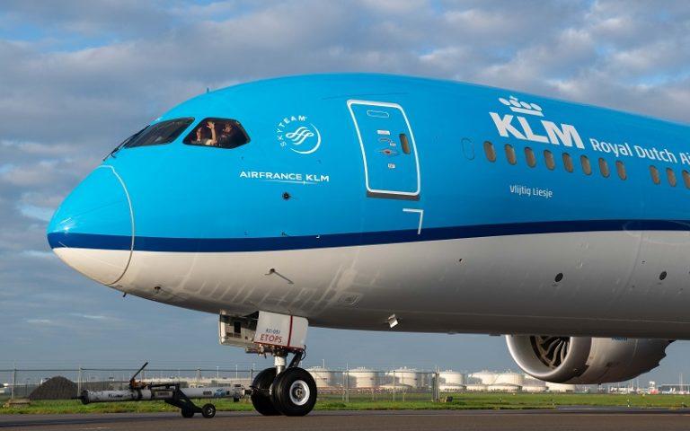 KLM introduce il Wi-Fi sui voli europei