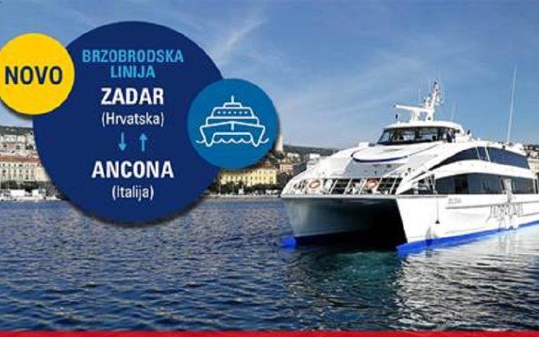 Jadrolinija collega Ancona e Zara ad alta velocità