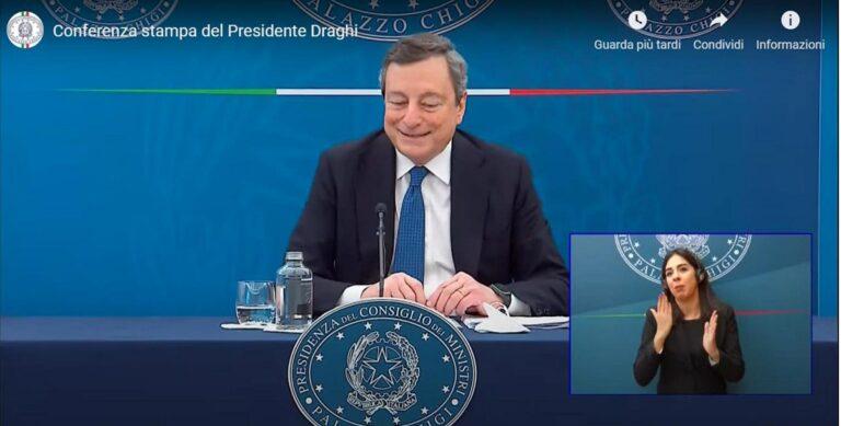 Garavaglia: Questa estate viaggeremo (in Italia). Draghi: Anche io vorrei (ma non posso)