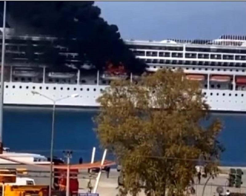 incendio a bordo di msc lirica