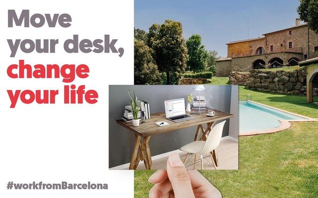 Nasce Barcellona Workation, un nuovo modo di fare smartworking