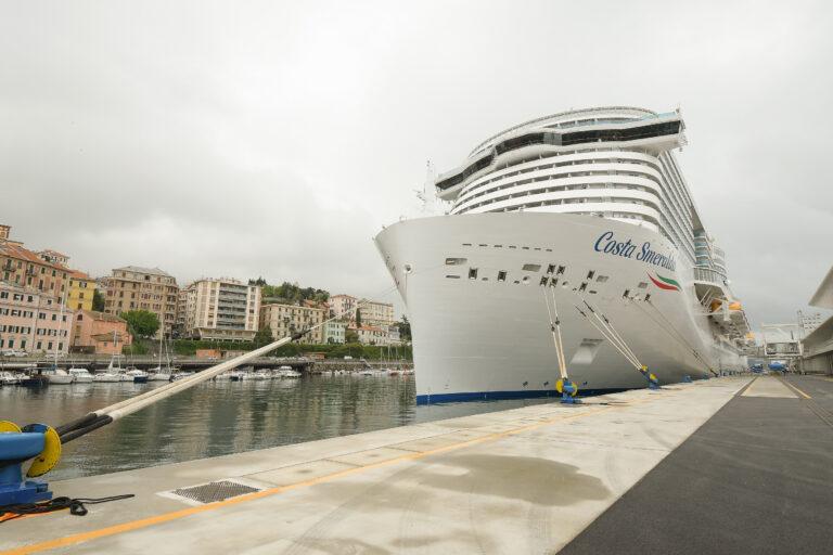 Costa Crociere riparte il 1° maggio da Savona con Costa Smeralda