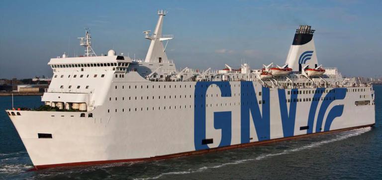 GNV amplia la flotta, arriva GNV Aries