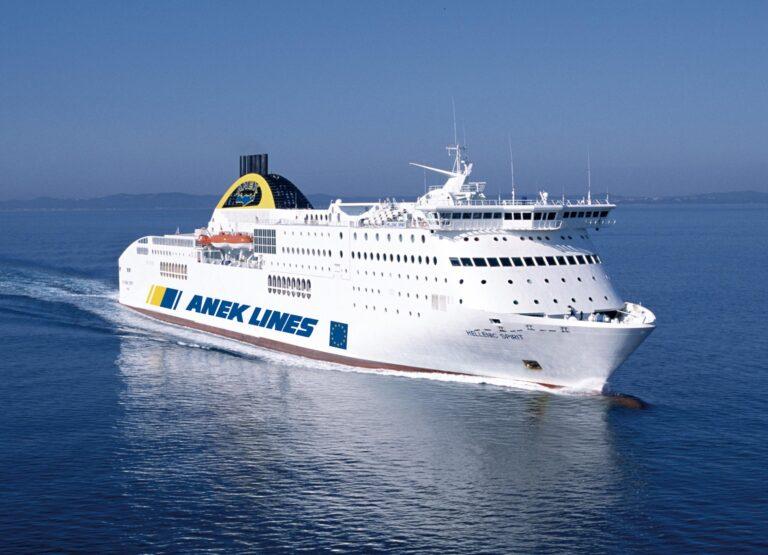 Anek Lines, invito a bordo per chi va in vacanza in Grecia