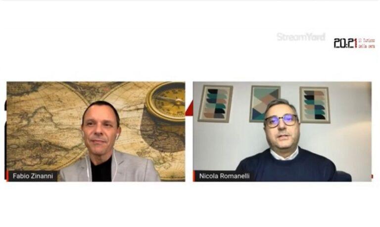 20:21 il Turismo della sera, intervista a Fabio Zinanni e Nicola Romanelli