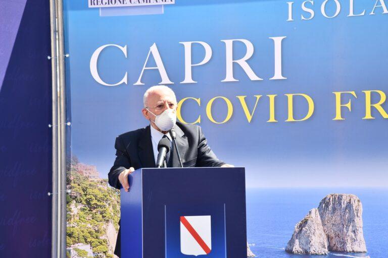 Capri è covid free, dalla Piazzetta parte l'invito per i turisti a tornare sull'isola