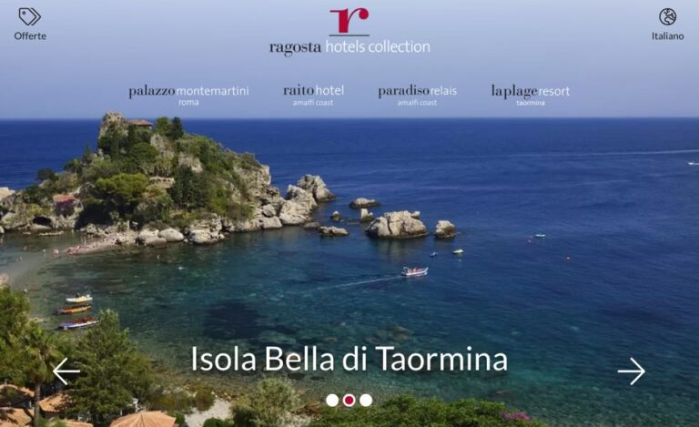 Nuovo look per Ragosta Hotels Collection