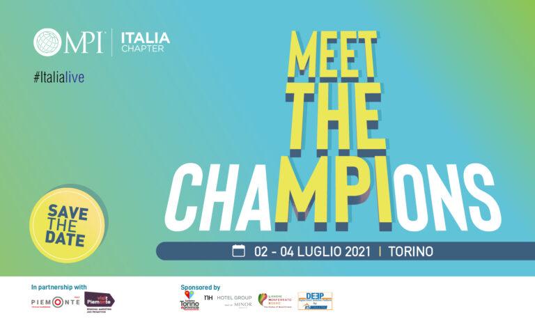 Meet the ChaMPIons: gli eventi a luglio ripartono da Torino  con la 30^ Convention Annuale MPI Italia