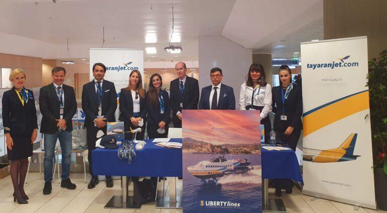 """Partnership Liberty Lines – Tayaranjet in Sicilia con pacchetti """"aereo + aliscafo"""""""