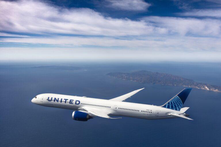 United Airlines incrementa i voli diretti  dall'Italia agli Stati Uniti