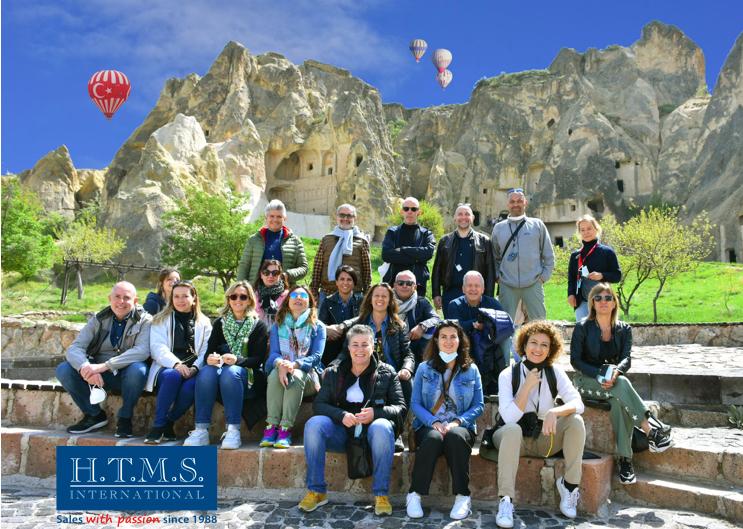 HTMS in Cappadocia per continuare il suo ciclo di famtrip