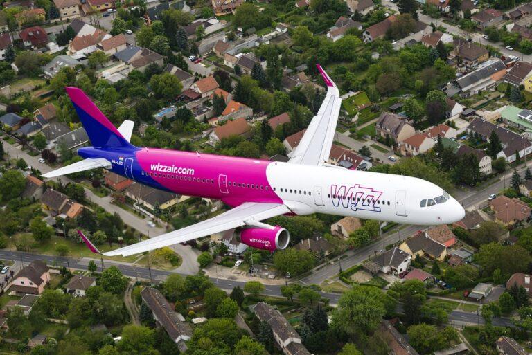 Nuova base e 32 ulteriori rotte da Roma per Wizz Air