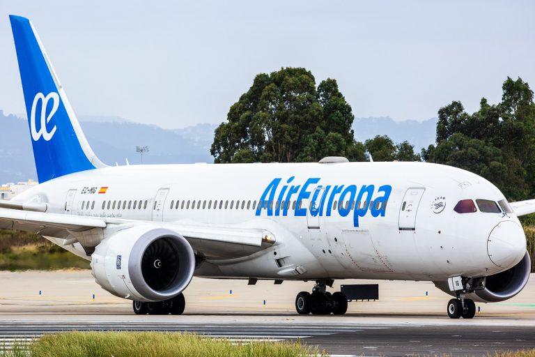 Air Europa decolla per Santo Domingo, Punta Cana e Samanà
