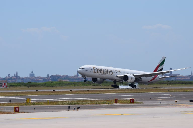 Aeroporto di Venezia: oggi il primo volo covid tested di Emirates per Dubai