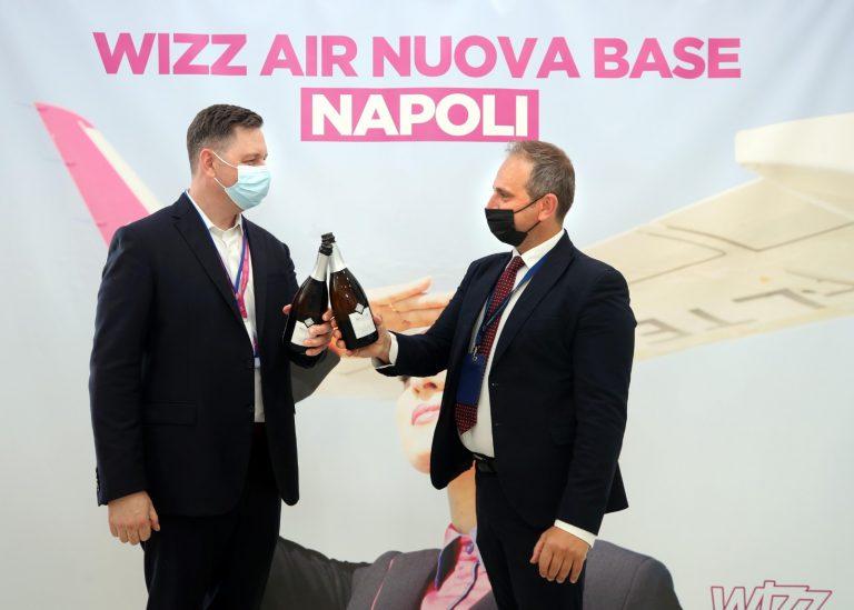 Wizz Air apre la sua sesta base italiana a Napoli