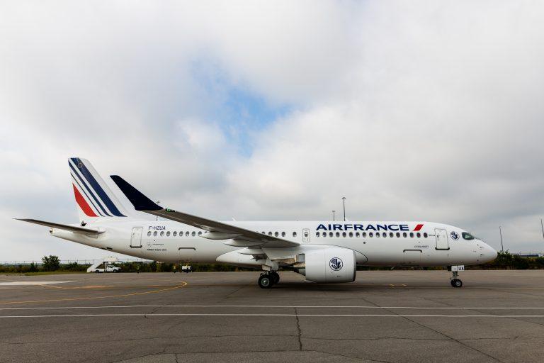 Air France presenta il suo primo Airbus A220-300